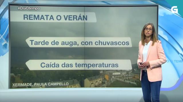 Tarde de auga pola metade sur de Galicia - 21/09/2019 17:34