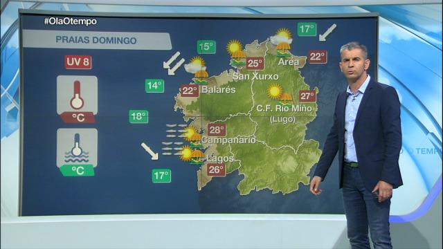 Tarde típica do verán galego - 14/07/2019 16:00