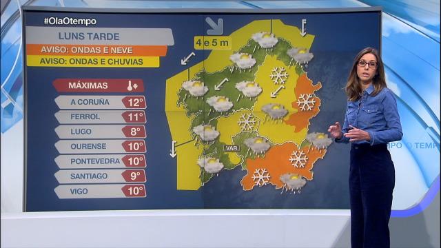 Van marchando os chuvascos pero mantéñense os avisos por neve en Lugo e Ourense - 16/12/2019 15:30