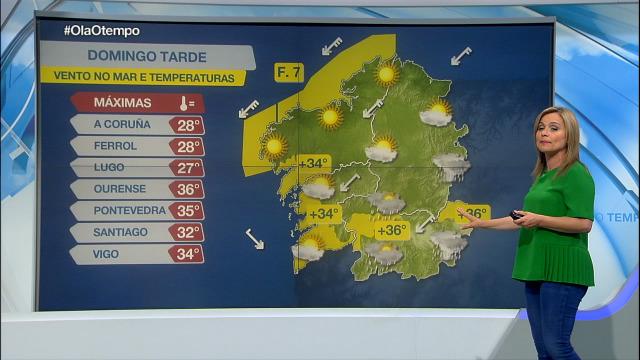 Amplas zonas de Galicia en aviso por calor - 11/07/2020 21:30