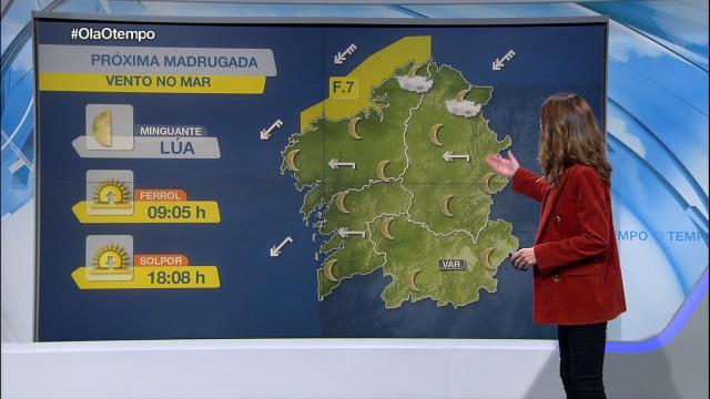 As mínimas volven caer baixo os 0 graos en gran parte do interior de Galicia - 02/01/2019 22:17