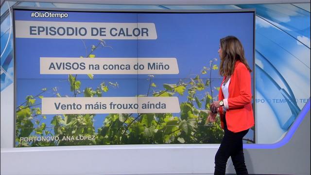 Avisos polas altas temperaturas da tarde nas bacías do Miño en Ourense e Pontevedra - 30/05/2019 22:07