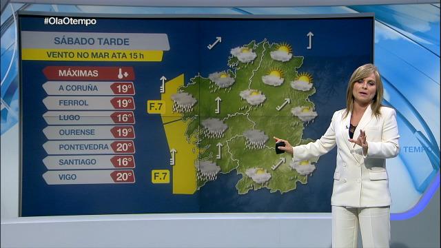 Chuvias persistentes ao oeste de Galicia - 06/11/2020 21:45