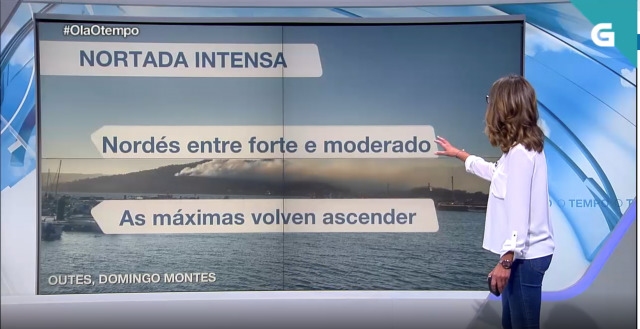 Continuará a nordestada na costa e no interior - 05/09/2019 22:21