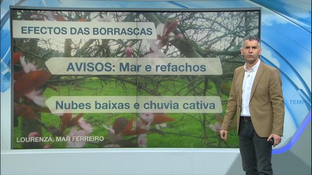 Domingo con aviso en toda a costa galega - 08/02/2020 21:30