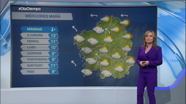 Este mércores unha fronte chegará a Galicia - 07/04/2020 22:00