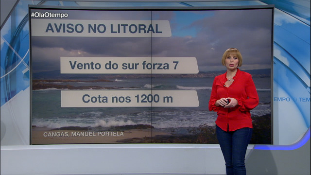 Mércores con treboadas e aviso amarelo no litoral da Coruña - 20/11/2018 21:28