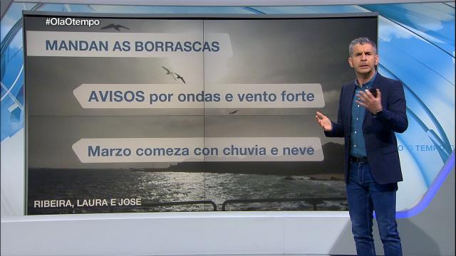 O domingo complícase a situación marítima - 29/02/2020 21:30