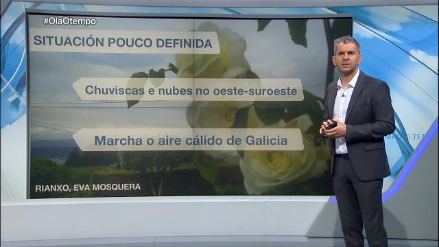 O martes tranquilízase a situación meteorolóxica en Galicia - 04/05/2020 22:00