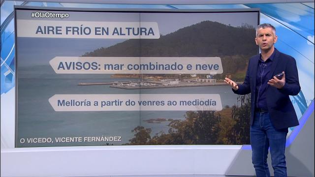 O venres, a partir do mediodía, cesa a chuvia en Galicia - 05/03/2020 22:00