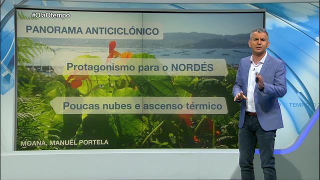 Remata a semana con calor en Galicia - 23/05/2020 21:15