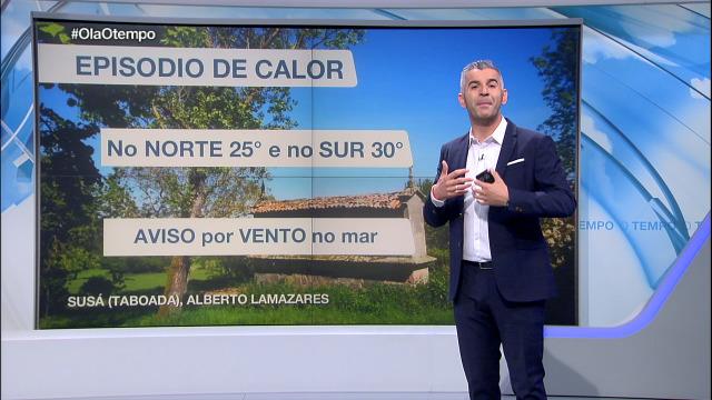 Segue o episodio de calor en Galicia - 13/05/2019 22:05
