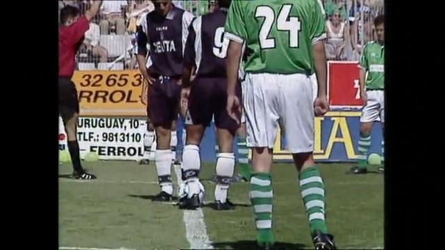 Fase de ascenso a Segunda 99/00, 6ª xornada:  Rácing de Ferrol - A.D. Ceuta - 25/06/2000