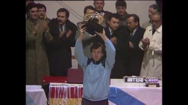 Final da I Copa Galicia de baloncesto 1986: Leite Río Breogán - Obradoiro Feiraco - 13/01/1987