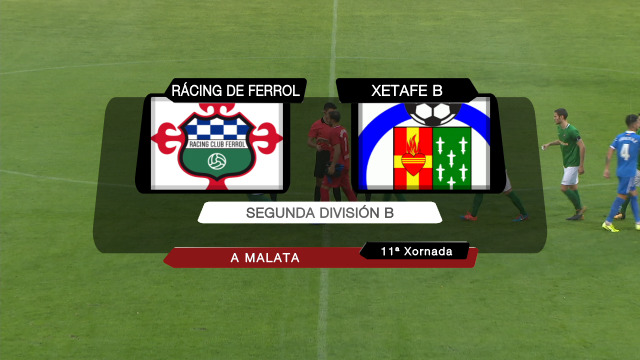 Fútbol (2ª Div.B.): Racing de Ferrol - Xetafe B. - 04/11/2019 14:55