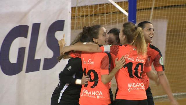 Fútbol Sala feminino: Cidade das Burgas - Viaxes Amarelle - 14/11/2020 20:46