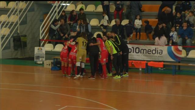 Fútbol sala. Liga Foro 16 Feminismo (19ª xornada): Sala Zaragoza - Poio Pescamar - 03/03/2019 12:30