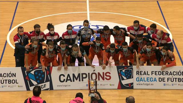 Fútbol sala masculino Final Copa Xunta: Burela Pescados Rubén - Noia Portus Apostoli - 09/01/2021 17:00