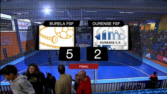 Fútbol sala. Semifinal Copa da Raíña: Burela FSF - Ourense FSF - 15/06/2019 20:00