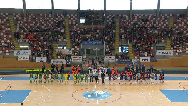 Fútbol sala. Semifinal Copa Xunta feminina: Ourense Envialia - Cidade das Burgas - 20/04/2019 18:30