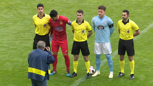 Fútbol. Segunda B - Grupo I (16ª xornada): Celta B - Fuenlabrada - 09/12/2018 12:00