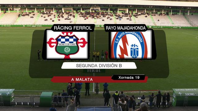 Fútbol (Segunda B) Rácing de Ferrol- Raio Majadahonda - 04/01/2020 17:00