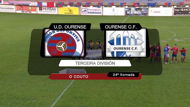 Fútbol (Terceira): U.D. Ourense - Ourense C.F. - 15/02/2020 18:30