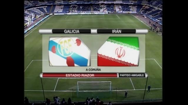 Selección de Galicia - Selección de Irán - 27/12/2008