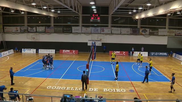 Voleibol Superliga masculina: Rotogal Boiro - Melilla - 20/12/2020 15:51