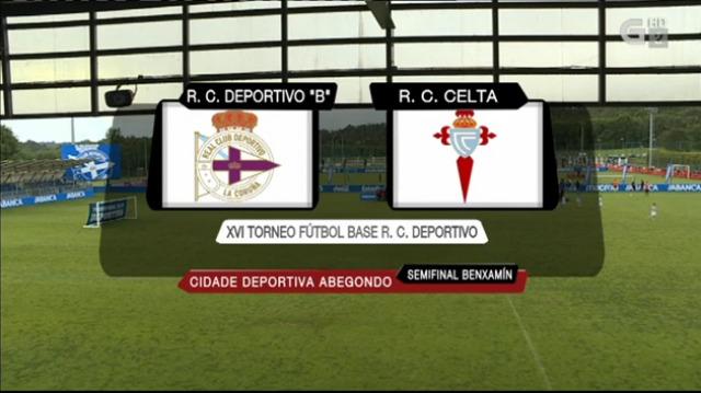 "XVI Torneo R.C. Deportivo. Semifinal benxamín: R.C. Deportivo ""B"" - R.C. Celta - 19/05/2019 16:30"