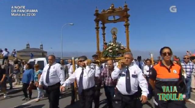 Desde Muxía coa Festa na honra á Virxe da Barca - 09/09/2018 22:20