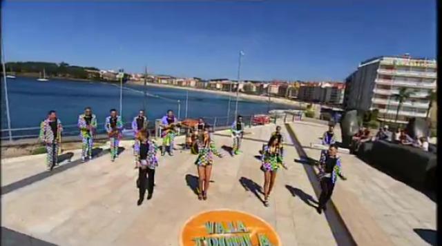 "Orquestra Marbella en Sanxenxo, ""Ya te olvidé"" - 06/09/2015 22:30"