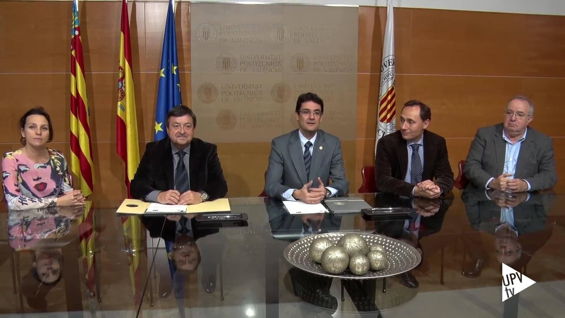 01-02-2017 Convenio entre la UPV y ARIVAL