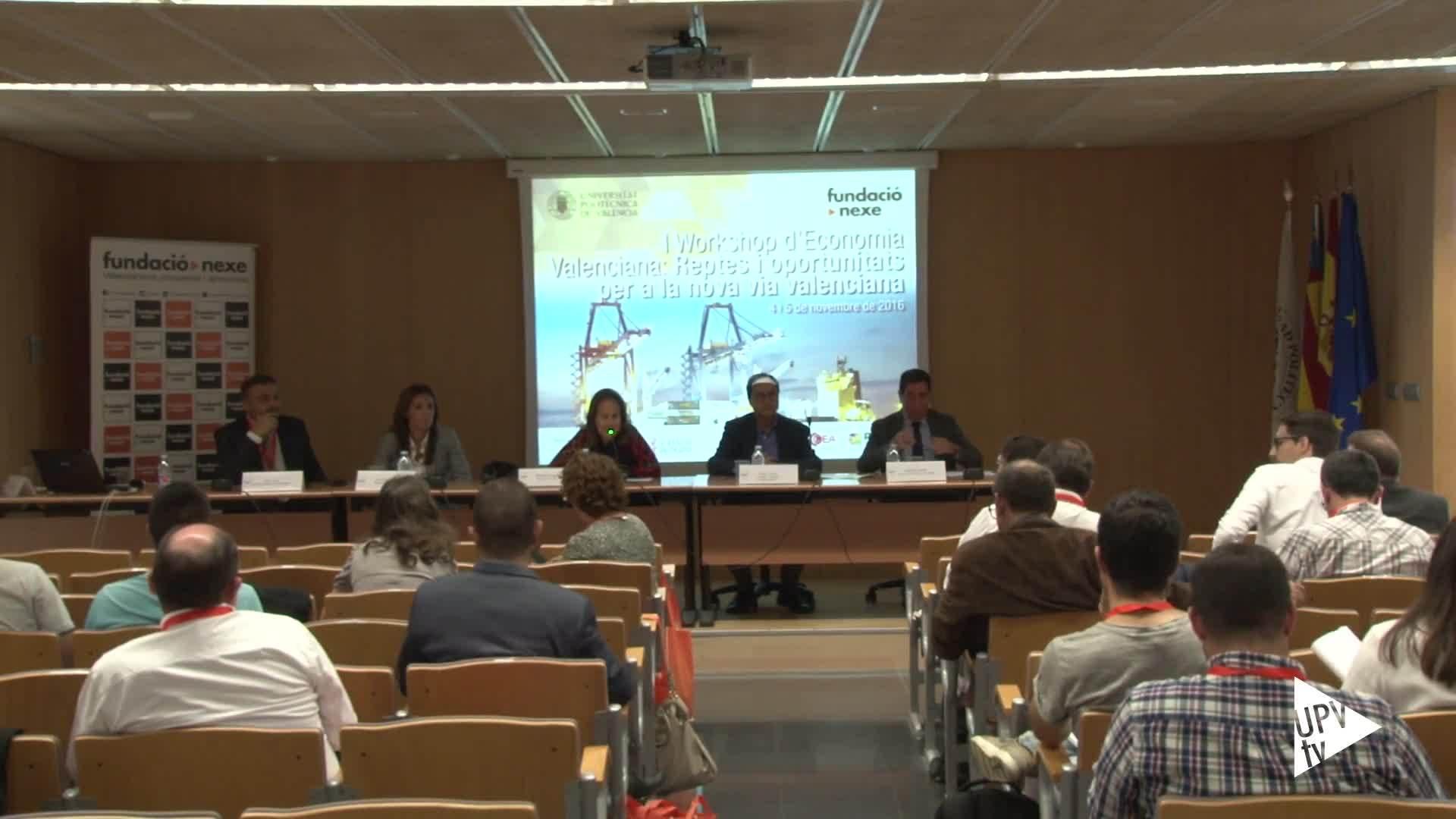 08-11-2016 Un nuevo modelo de economía valenciana