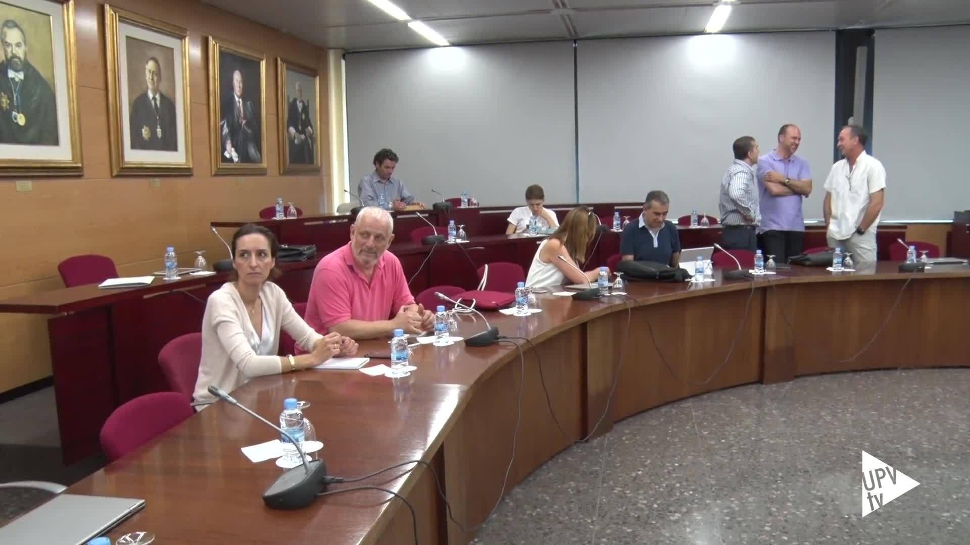 09-06-2016 Consejo de Gobierno UPV