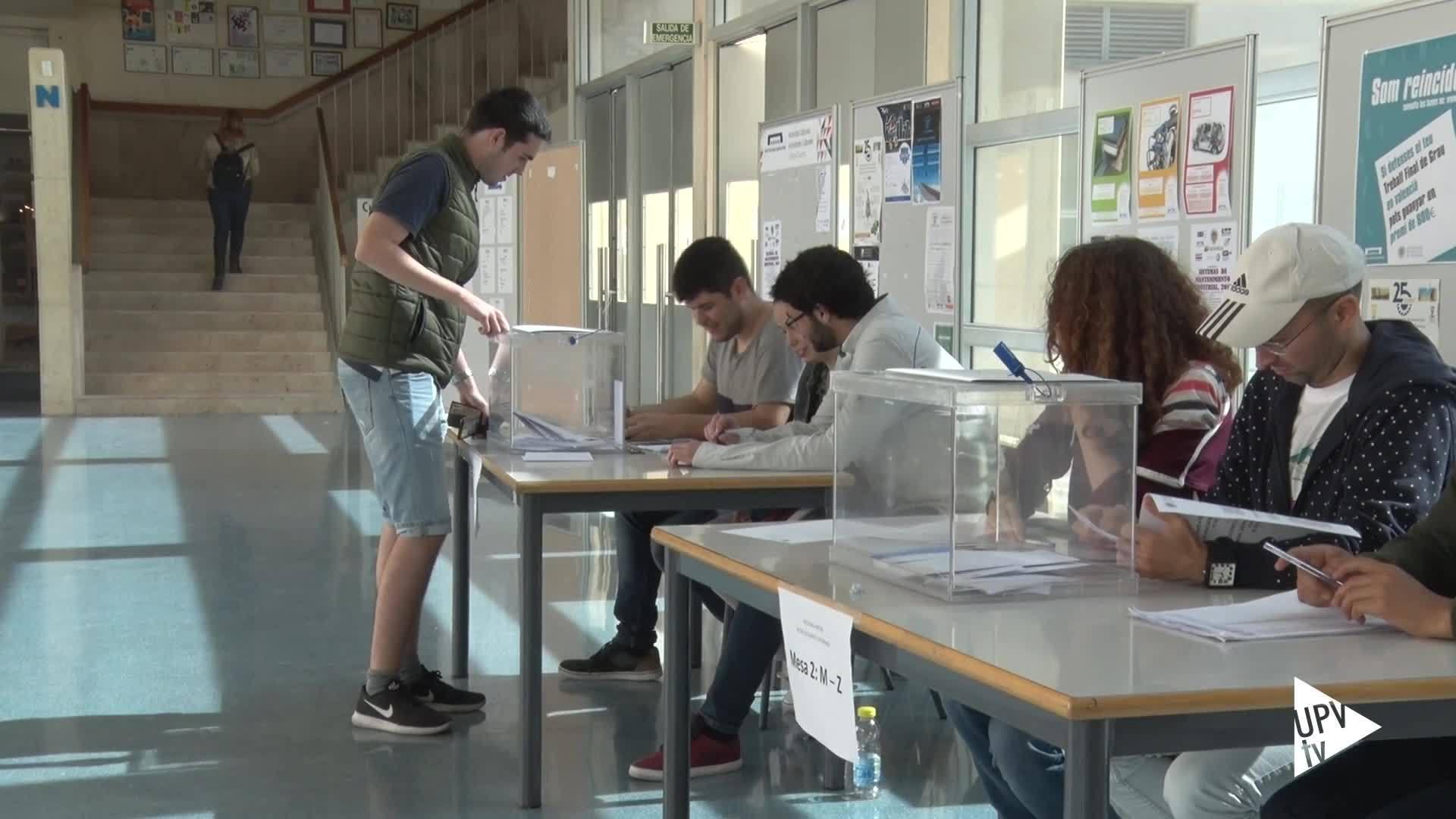 10-05-2017 Datos participación elecciones a rector UPV