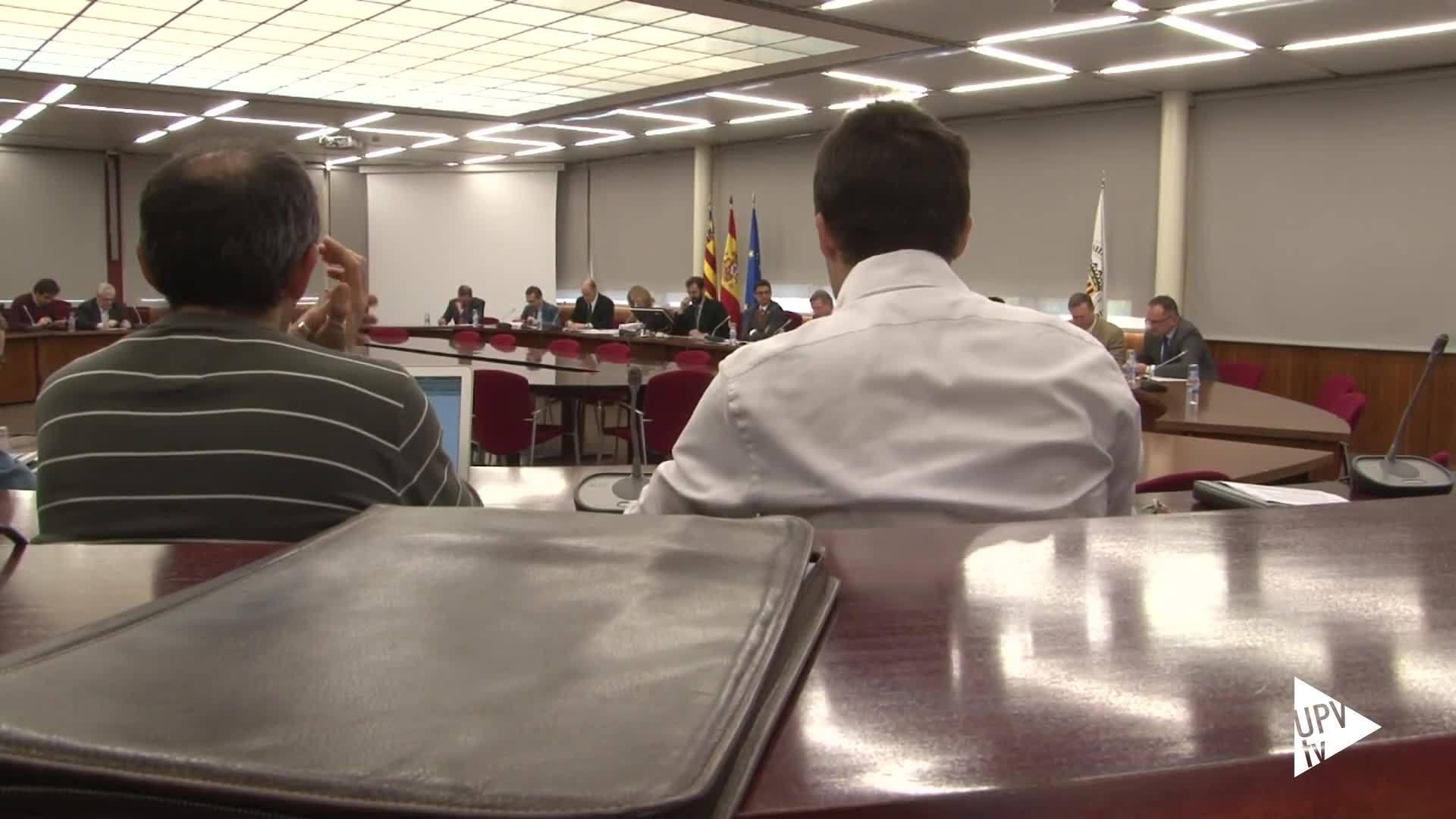 16-07-2015 Consejo de Gobierno de la UPV