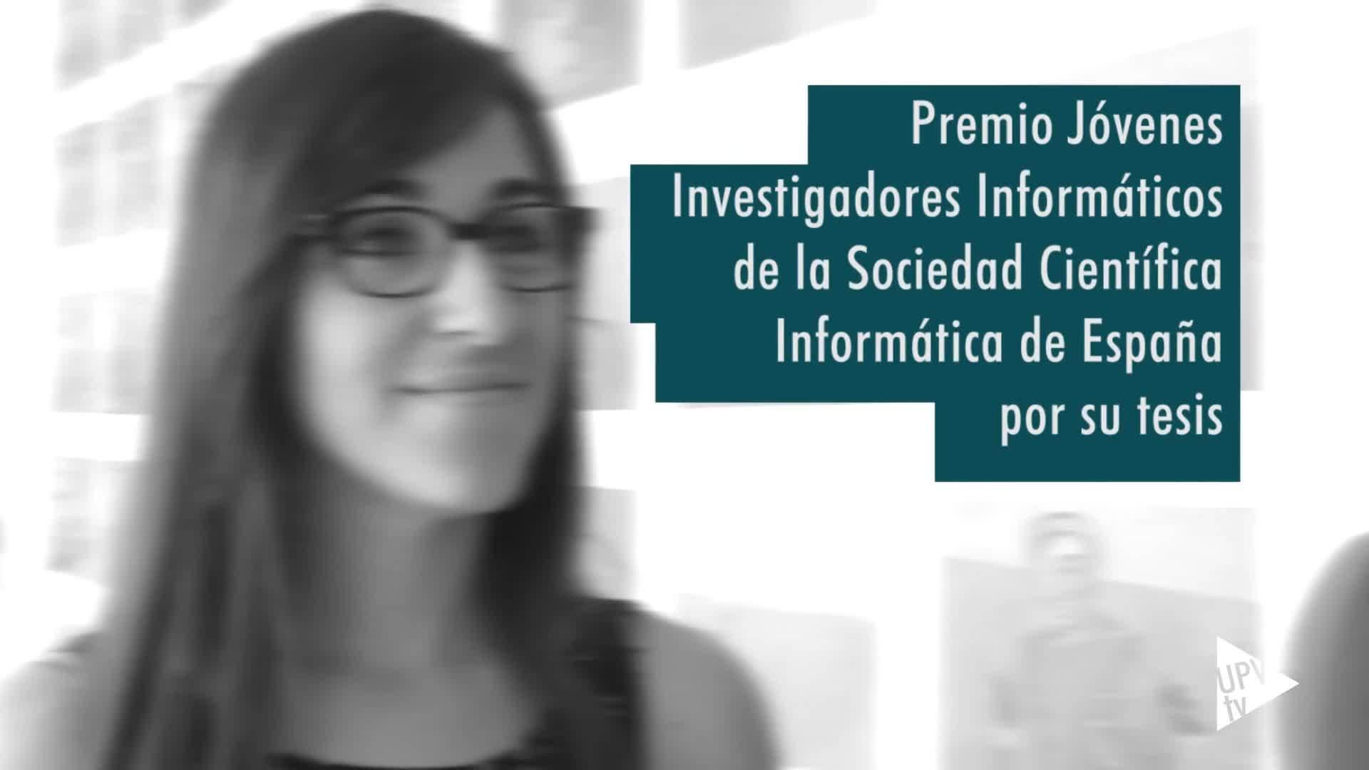 16-07-2019 Patricia Pons, Premio Jóvenes Investigadores Informáticos