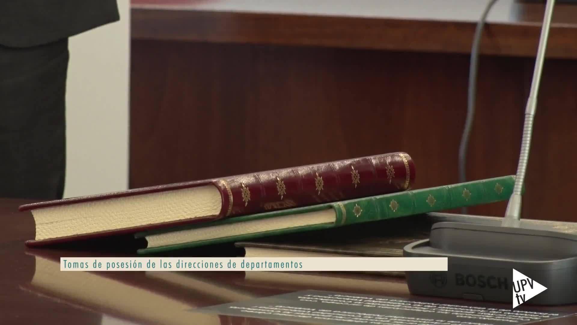 17-01-2019 Nuevas direcciones departamentos e institutos