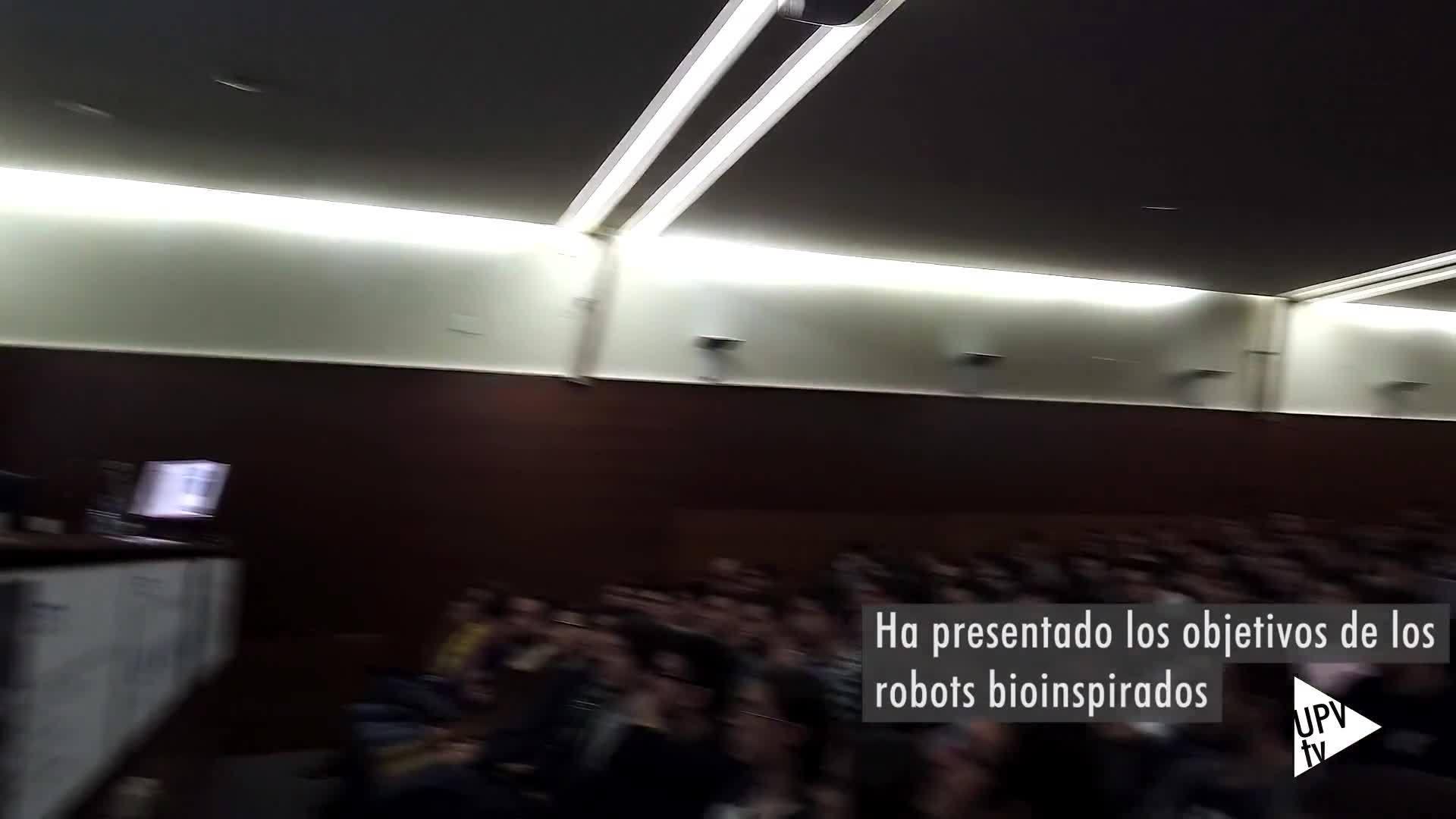 26-11-2019 Aníbal Ollero en la UPV