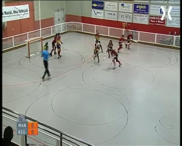 CP Manlleu - Reus Deportiu (OK Lliga femenina)