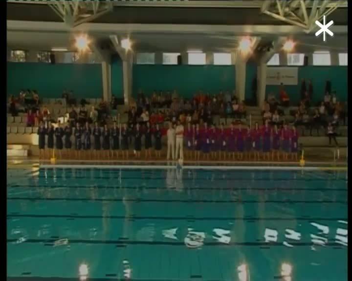 Divisió d'Honor femenina Waterpolo 1a part