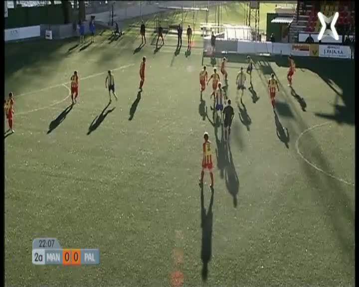 Grup Cinquè Tercera Divisió: Manlleu - Palamós
