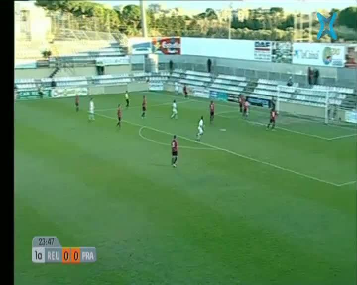 Tercera divisió: CF Reus Deportiu - AE Prat 1era Part
