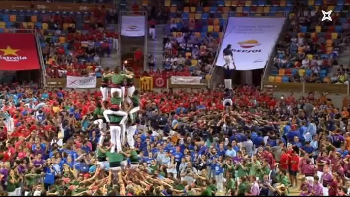 Concurs de Castells de Tarragona. Jornada de dissabte (7a part)