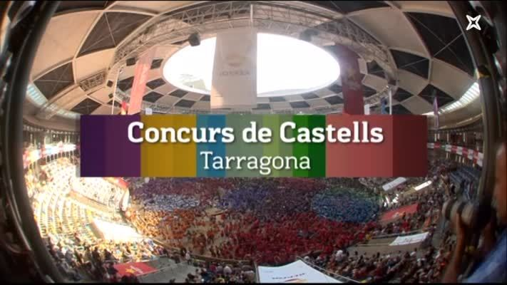 Concurs de Castells de Tarragona. Jornada de dissabte