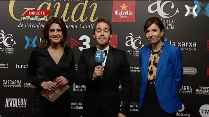 Prèvia de la Gala dels VII Premis Gaudí