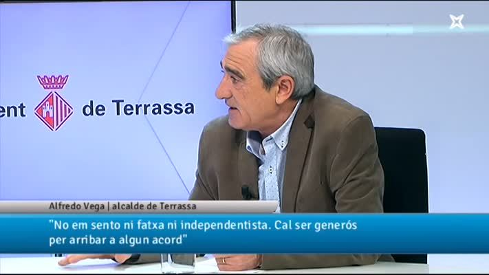 Entrevista a Alfredo Vega, alcalde de Terrassa
