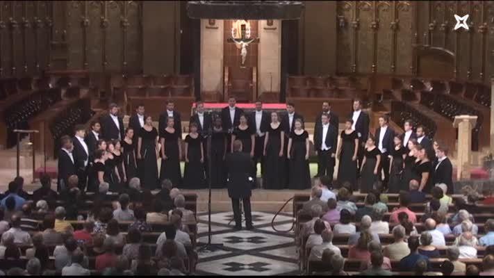 Concert del Westminster Choir a Montserrat