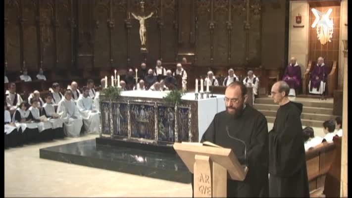 Missa de Montserrat, 30 de novembre